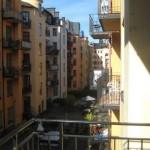Utsikt Hagagatan 8