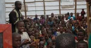 Skola i Uganda