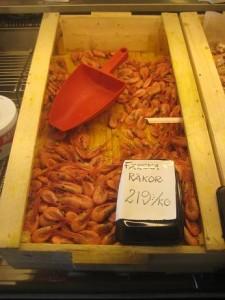 Fiskaffären räkor 219 kr kilot
