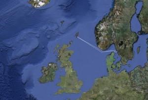 Shetlandsöarna beläget