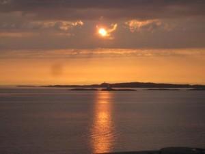 Solnedgång på Capri 20 maj 2012