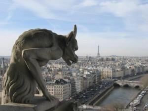 Gargoyle på Notre Dame juni 2012