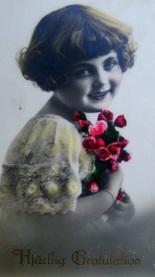 vykort flicka - Kopia