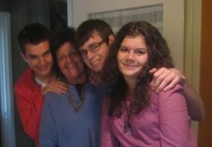 Fyra i familjen augusti 2011