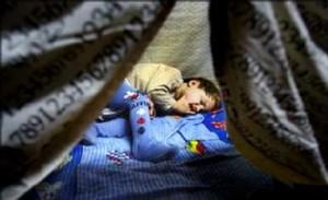 Hemlösa barn
