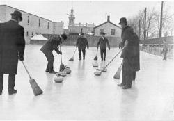 Curling i Ontario Canada