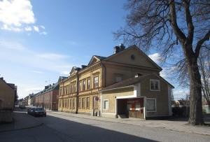 Glasblåsargården Östra Nygatan 6 den 2 april 2014