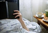 Läsa i sängen
