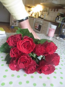 Pappas rosor 30 april 2014