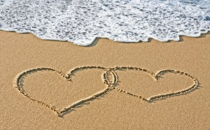 Hjärtan vid vattnet