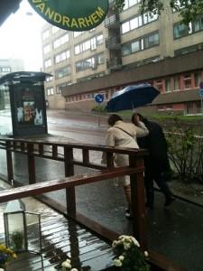 Regn i Göteborg