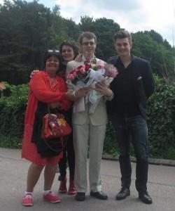 Vi gratulerar Jakob till hans examen