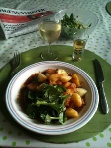Söndag middag 13 juli 2014