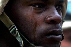 Gråtande krigare