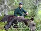 Jägare med björn