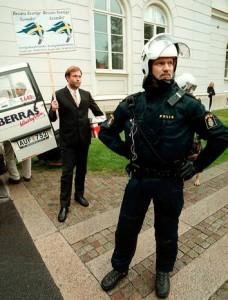 Polisskydd för svenskarnas parti
