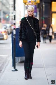 AnnaMaria modell i NY