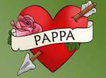 Hjärta med PAPPA