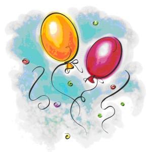 ballonger från Internet till J
