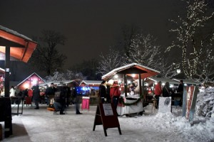 Gammaldags julmarknad i Arboga