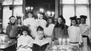 Luciatåg 1906