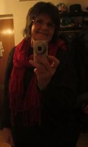 Susanne på julsupe med Kf 18 dec 14