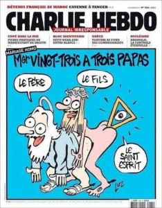 Charlie Hebo Satir eller hån