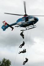 Insatsstyrkan med helikopter