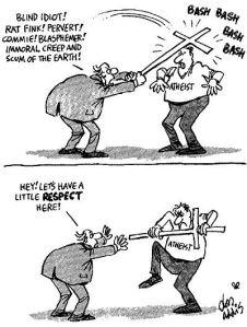 Respekt tecknat