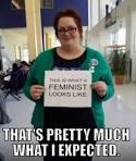 Tjock feminist