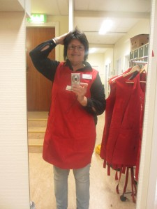 Susanne på Röda Korset 26 jan 2015