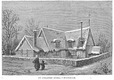 St Johannes träkyrka 1877
