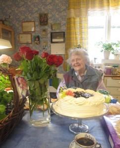 Mamma fyller 89 år - Redigerad Kopia