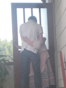 Mormor och Jakob augusti 2012