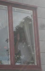 Pappa vinkar hej då augusti 2012
