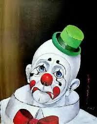 Ledsen clown