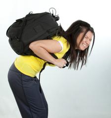 Tung ryggsäck