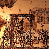 Avrättning folknöje förr