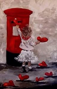 Posta hjärtan