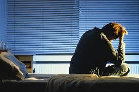 Sömnproblem man