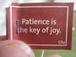 Filindeblogg om tålamod