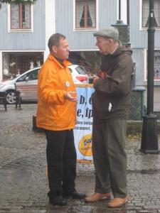 Göte och Anders Cargeman valet 2010 IMG_7083