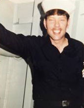 Keith Allen Harward som ung