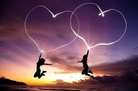 Flyga med hjärtan