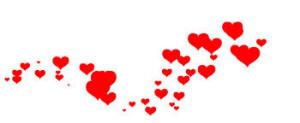 Hjärtan i rad