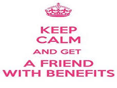 Keep calm and geta friend with benefits