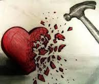 Hjärta krossas